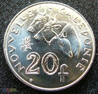 New Caledonia 20 Francs 2003 KM# 9 UNC  Nouvelle Caledonie - New Caledonia