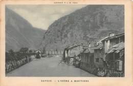 73 - SAVOIE - L'Isère à MOUTIERS - Agenda P.L.M. 1924 - Moutiers