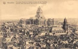 BRUXELLES - Panorama (Palais De Justice Et église De La Chapelle) - Panoramische Zichten, Meerdere Zichten