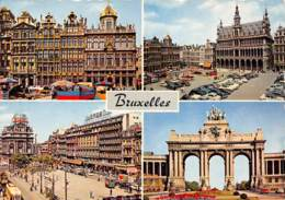 CPM - BRUXELLES - Panoramische Zichten, Meerdere Zichten