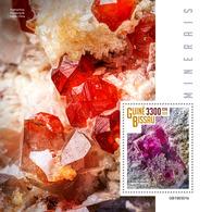 GUINEA BISSAU 2019 - Minerals S/S. Official Issue - Mineralen