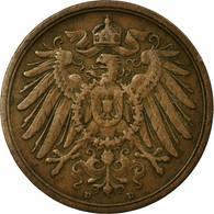 Monnaie, GERMANY - EMPIRE, Wilhelm II, 2 Pfennig, 1905, Munich, TTB, Cuivre - [ 2] 1871-1918 : German Empire