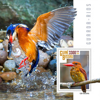 GUINEA BISSAU 2019 - Kingfishers S/S. Official Issue - Andere