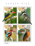 GUINEA BISSAU 2019 - Kingfishers. Official Issue - Andere