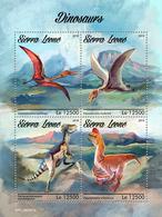 SIERRA LEONE 2019 - Dinosaurs. Official Issue. - Postzegels