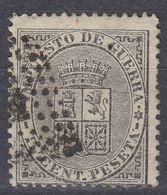 ESPAÑA - SPAGNA - SPAIN - ESPAGNE - 1873 - Tasse Di Guerra Yvert 1 Usato. - Impuestos De Guerra
