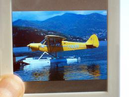DIAPOSITIVA / SLIDE AEREO PIPER CUB I-BUFF  AERO CLUB COMO - Diapositive
