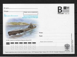 Russia 2015, Submarine K-21 Post Card # 134/1 (AP-5) - Submarines