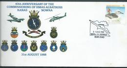 Australia 1988 HMAS Albatross  Illustrated Cover 37c AAT Adhesive , Special Cancel - Covers & Documents