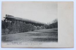 Zeppelin Tombé à Bourbonne-les-Bains, Le 20 Novembre 1917, France - Bourbonne Les Bains