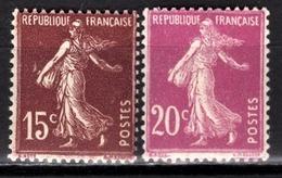 FRANCE 1924/1926 - Y.T. N° 189 / 190  - NEUFS** - - France