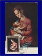 Cameroun, Carte Maximum, Yvert 578, La Vierge Et L'Enfant - Ohne Zuordnung