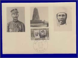 Algérie, Carte Maximum, Foucald & Laperrine - Cartes-maximum