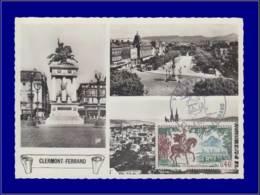 France, Carte Maximum, Yvert 1495, Vercingetorix - Maximumkaarten