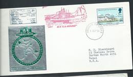 Tristan Da Cunha 1981 Ship Cover To South Africa , Ship Agulhas - Tristan Da Cunha