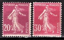 FRANCE 1924/1926 - Y.T. N° 190 / 191  - NEUFS** - - France