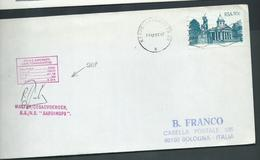South Africa 1992 Ship Mail Cover To Bologna Italy , Ship Sardinops - Covers & Documents