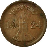 Monnaie, Allemagne, République De Weimar, 2 Rentenpfennig, 1924, Berlin, TB+ - 2 Rentenpfennig & 2 Reichspfennig