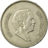 Monnaie, Jordan, Hussein, 100 Fils, Dirham, 1984/AH1404, TTB, Copper-nickel - Jordanie