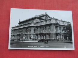 > Argentina   RPPC  > Buenos Aires  Teatro Colon   Ref 3289 - Argentina