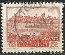 POLAND 1960 - Mi. 1196 O, Slupsk, Historic Towns   Townscapes / City Views - Usati