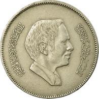 Monnaie, Jordan, Hussein, 100 Fils, Dirham, 1989/AH1409, TTB, Copper-nickel - Jordanie