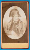 PHOTO Photographie CDV Napoléon 1er * Maison H. Guérard - Victor DAIREAUX Succr. Paris, Fournisseur Famille Impériale - Célébrités