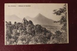 CPA  74   LAC D ANNECY   CHATEAU DE MENTON - Autres Communes