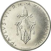 Monnaie, Cité Du Vatican, Paul VI, 100 Lire, 1974, Roma, SPL, Stainless Steel - Vatican