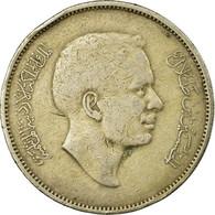 Monnaie, Jordan, Hussein, 100 Fils, Dirham, 1977/AH1397, TTB, Copper-nickel - Jordanie