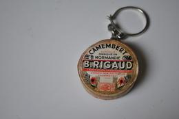 Rare Vintage Porte-clefs Années 50-60 Camembert Rigaud - Porte-clefs