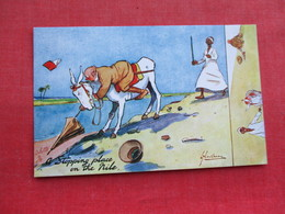 Tuck Series  Humor In Egypt  Nile     Ref 3289 - Other
