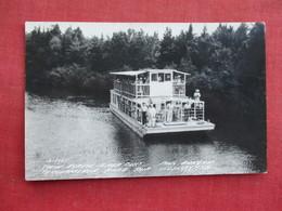 RPPC 1947 Cancel  Twin Screw River Boat Newberry - Michigan    Ref 3289 - Other