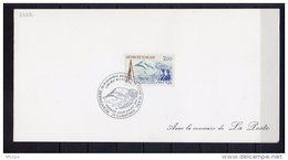 Lil3O21 Chamonix (74) Obl. Temp Première Ascension Du Mont Blanc 08/08/1986 / YvT 2422 - 1980-1989
