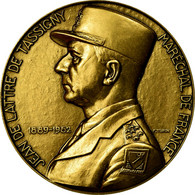 France, Médaille, Jean De Lattre De Tassigny, Maréchal De France, Turin, FDC - France