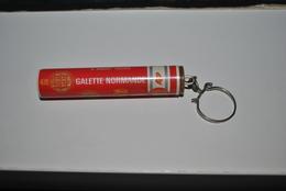 Rare Vintage Porte-clefs Années 50-60 Galette Normande - Porte-clefs