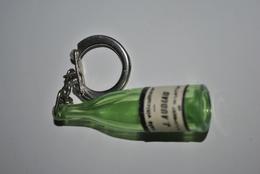 Rare Vintage Porte-clefs Années 50-60 Café Viticulteur Audiau - Porte-clefs