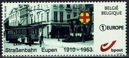 Belgien Belgie 2019 - Eupen - Straßenbahn Tram - MiNr 4730** - Tramways