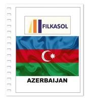 Suplemento Filkasol Azerbaijan 2017 - Ilustrado Para Album 15 Anillas - Pre-Impresas