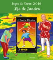 Sao Tome 2016 Summer Olympic  Games 2016 Rio De Janeiro - Sao Tome And Principe