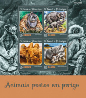 Sao Tome 2016  Fauna  Endangered Animals ,elephants, Orangutan - Sao Tome And Principe