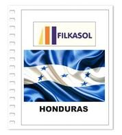 Suplemento Filkasol Honduras 2016 - Ilustrado Para Album 15 Anillas - Pre-Impresas