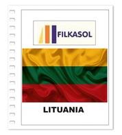 Suplemento Filkasol Lituania 2016 - Ilustrado Para Album 15 Anillas - Pre-Impresas