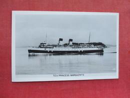 RPPC  TEV Princess Marguerite        Ref 3289 - Steamers