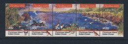 ILES CHRISTMAS 1992 NOEL- OISEAUX   YVERT N°381/85  NEUF MNH** - Oiseaux