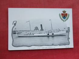 Calvin Austin Saint John Harbor N.B.         Ref 3289 - Steamers