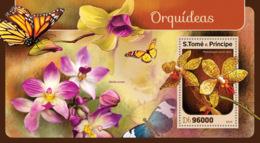 Sao Tome 2016  Orchids - Sao Tome And Principe