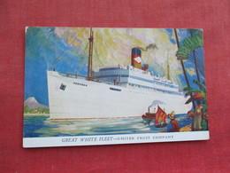 Great White Fleet  United Fruit Company    Ref 3289 - Steamers