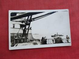 RPPC On Deck Navy Ship      Ref 3289 - Warships