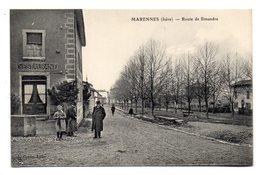 MARENNES (Isère) - Route De Simandre . - Autres Communes